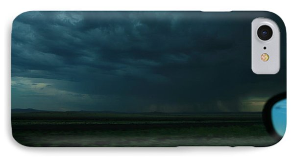 IPhone Case featuring the photograph Driving Rain Number Two by Lon Casler Bixby