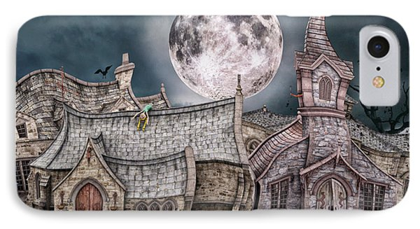 Drunken Village Phone Case by Jutta Maria Pusl