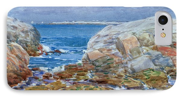 Duck Island Phone Case by Childe Hassam