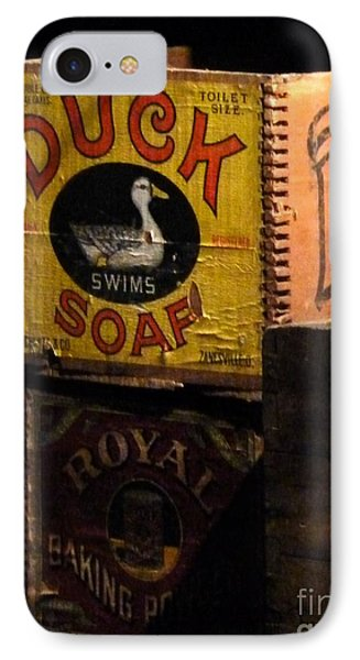 IPhone Case featuring the photograph Duck Soap by Newel Hunter