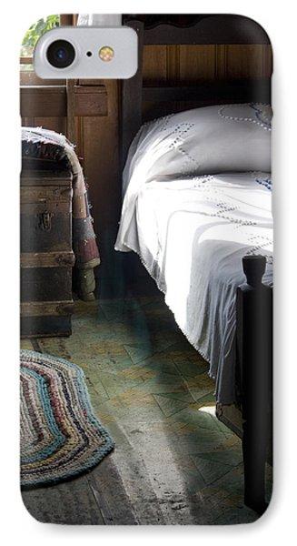 Dudley Farmhouse Interior No. 1 IPhone Case by Lynn Palmer