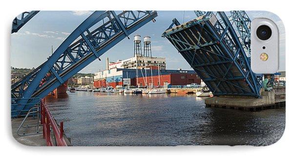 Duluth Draw Bridge 1 B IPhone Case