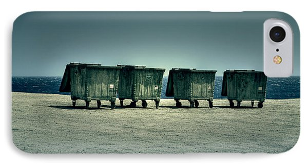 Dumpster Phone Case by Joana Kruse