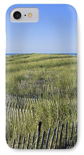 Dune Fence Phone Case by John Greim