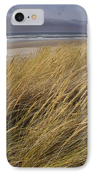 IPhone Case featuring the photograph Dune Grass On The Oregon Coast by Mick Anderson