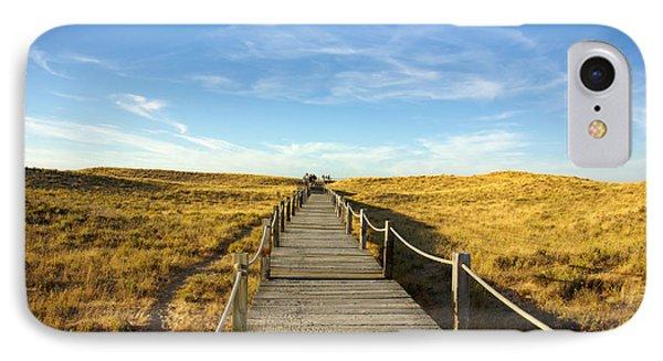 Dune Walkway Phone Case by Carlos Caetano