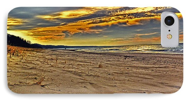 IPhone Case featuring the photograph Dunes Sunset II by William Fields