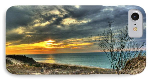 IPhone Case featuring the photograph Dunes Sunset IIi by William Fields