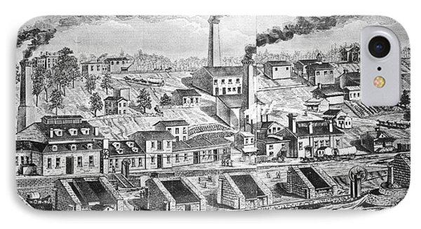 Dupont Powder Mill, 1854 Phone Case by Granger