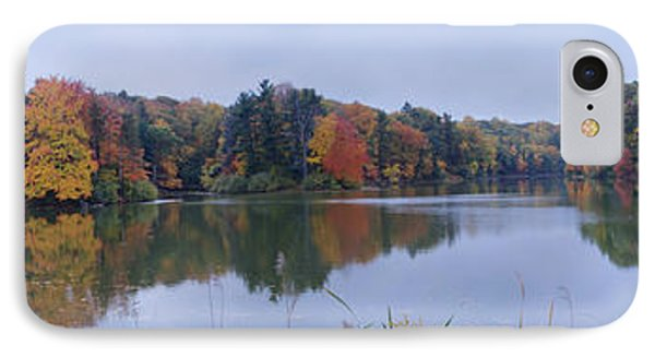 IPhone Case featuring the photograph Durand Lake by William Norton