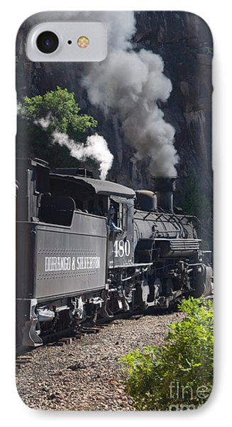 Durango And Silverton Historic Train Phone Case by Stuart Wilson and Photo Researchers
