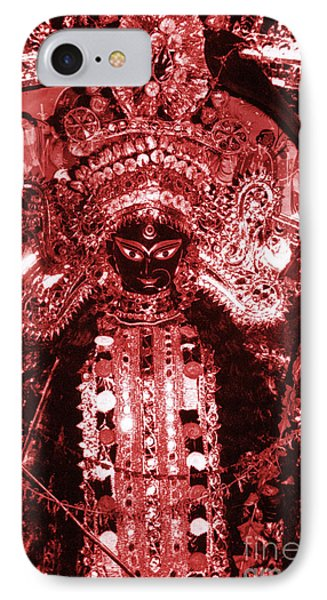 Durga Phone Case by Photo Researchers