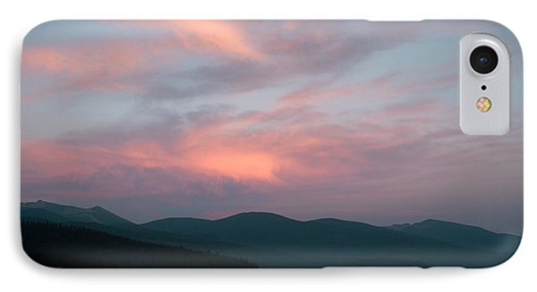 Dusk At Priest Lake Phone Case by David Patterson