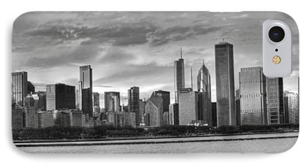 Dusk Over Chicago IPhone Case