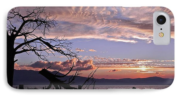 IPhone Case featuring the photograph Dusk Over Lake Tahoe by Kirsten Giving