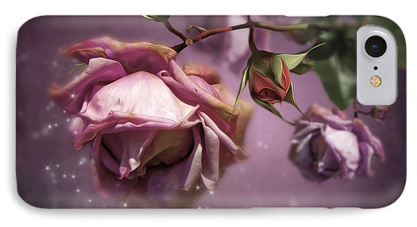 Dusky Pink Roses IPhone Case by Svetlana Sewell