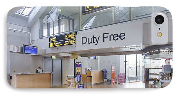 Duty Free Shop At An Airport Phone Case by Jaak Nilson
