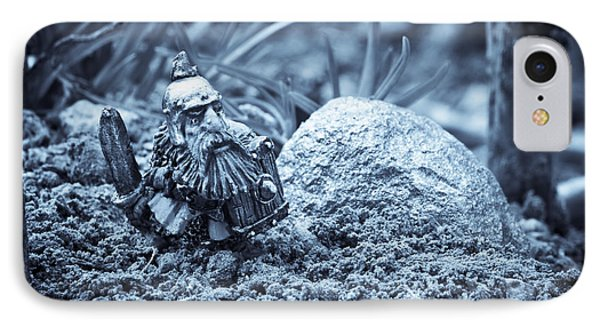 Dwarf Lost In The Enchanted Forest Phone Case by Marc Garrido