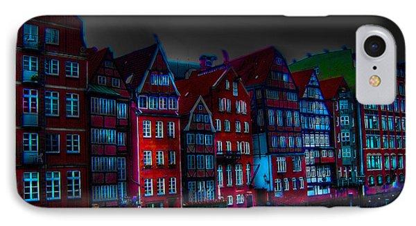 Dyke Road  -  Hamburg Phone Case by EricaMaxine  Price