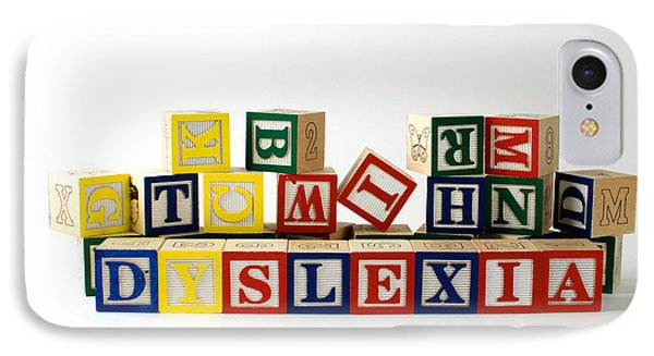 Dyslexia Phone Case by Photo Researchers, Inc.