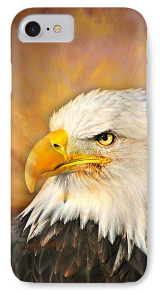 Eagle Burst Phone Case by Marty Koch