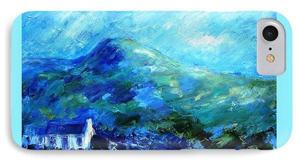 Eagle Hill Lane -ireland  IPhone Case by Trudi Doyle