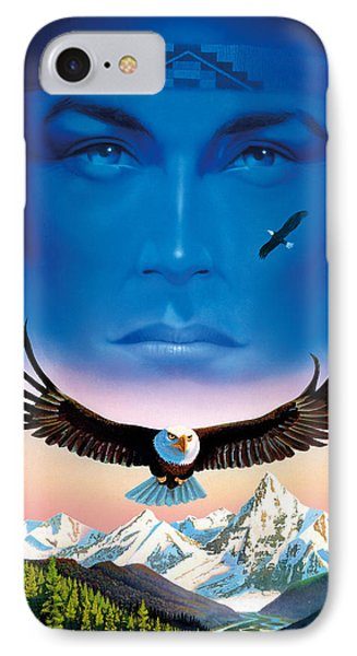 Eagle Mountain Phone Case by MGL Studio - Chris Hiett