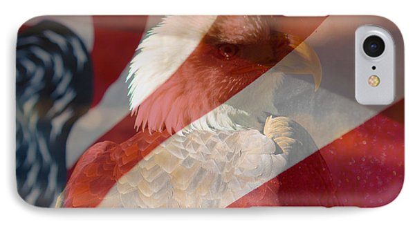 Eagle Phone Case by Rebecca Frank