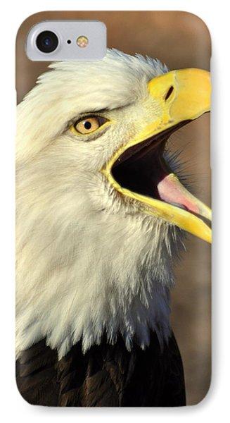 Eagle Squawk Phone Case by Marty Koch