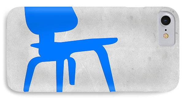 Eames Blue Chair IPhone Case by Naxart Studio