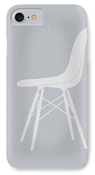 Eames Fiberglass Chair IPhone Case by Naxart Studio