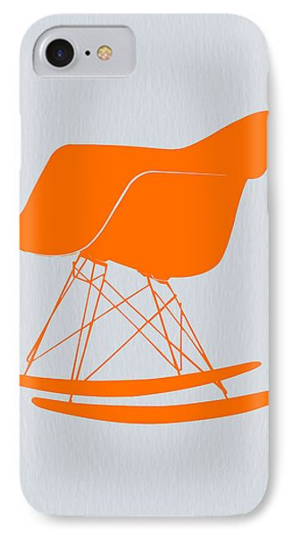 Eames Rocking Chair Orange IPhone Case