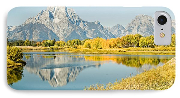 Early Autumn At Oxbow Bend IPhone Case