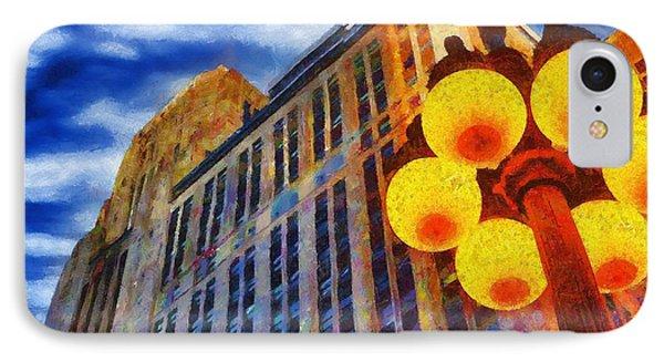 Early Evening Lights Phone Case by Jeffrey Kolker