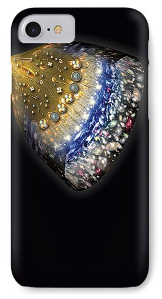 Early History Of The Universe, Artwork IPhone Case by Henning Dalhoff