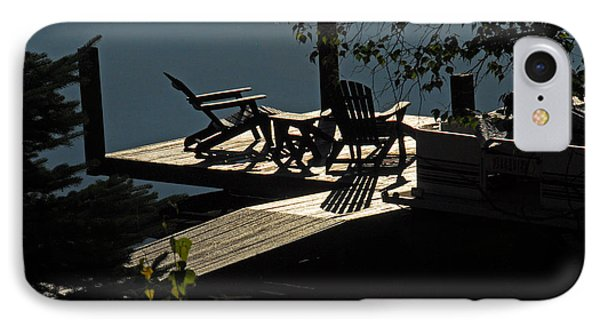 IPhone Case featuring the photograph Early Morning At The Lake by Cindy Manero