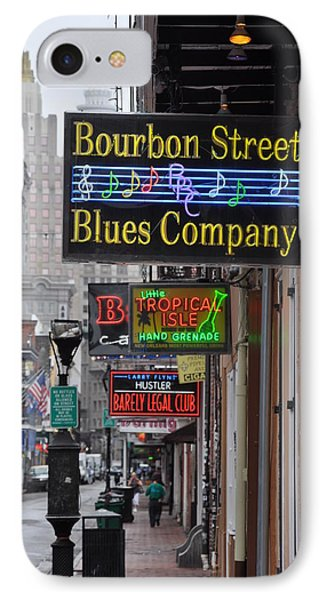 Early Morning Bourbon Street Phone Case by Bill Cannon