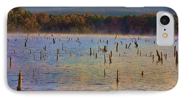 Early Morning Color Of Lake Wilhelmina-arkansas Phone Case by Douglas Barnard