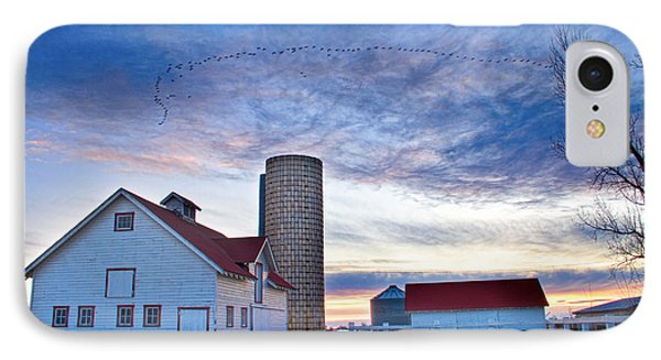 Early Morning On The Farm Phone Case by James BO  Insogna