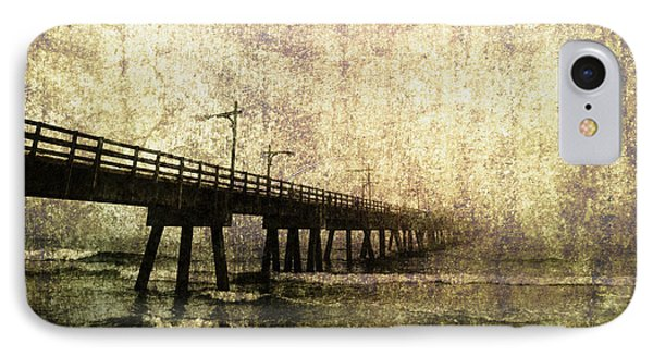 Early Morning Pier Phone Case by Skip Nall