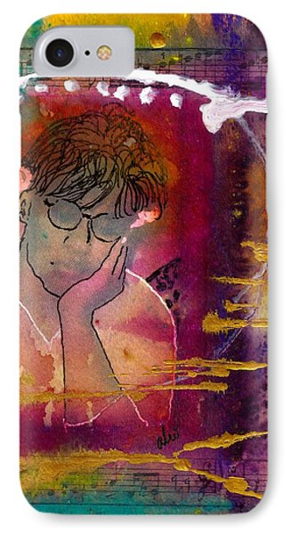 Early Morning Songwriter Phone Case by Angela L Walker