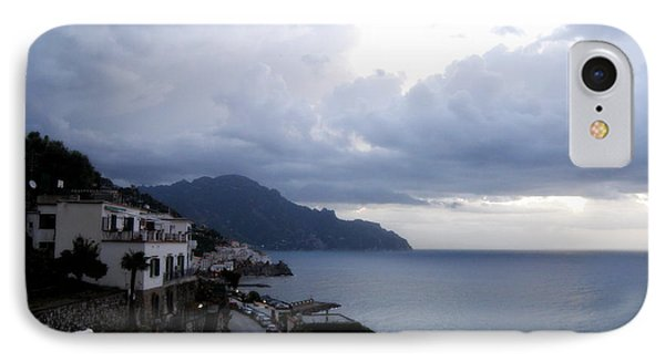IPhone Case featuring the photograph Early Morning View Of Amalfi From Santa Caterina Hotel  by Tanya  Searcy