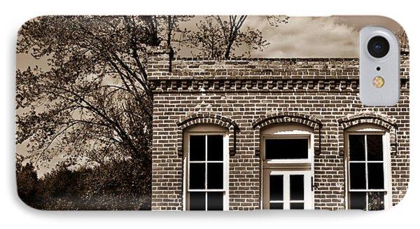 Early Office Building Phone Case by Douglas Barnett