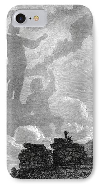 Early Sighting Of Brocken Spectres, 1797 Phone Case by