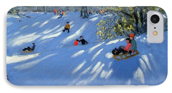 Early Snow IPhone Case by Andrew Macara