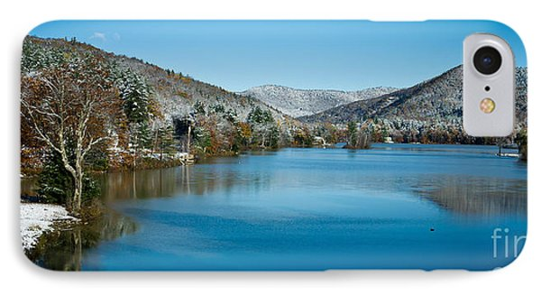 Early Snow In Vermont Phone Case by Edward Fielding