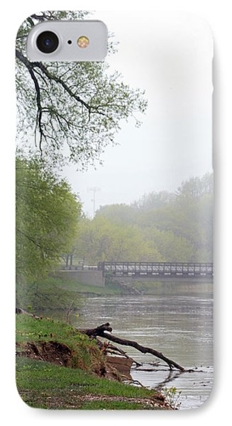 IPhone Case featuring the photograph Early Spring Morning Fog by Kay Novy