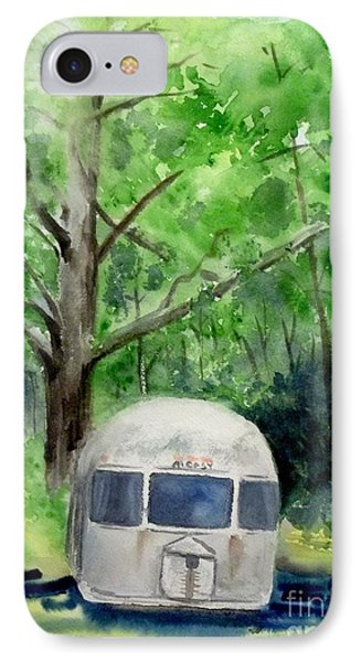 IPhone Case featuring the painting Early Summer At The Geddes Farm 1 --ann Arbor  Michigan by Yoshiko Mishina