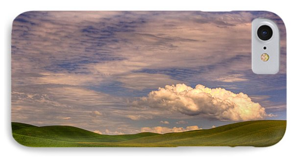 Early Summer Wheat In The Palouse Phone Case by David Patterson