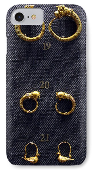 Earrings Phone Case by Andonis Katanos